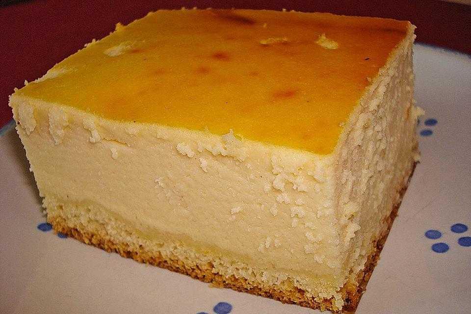 Ohne 500g quark käsekuchen vanillepudding mit boden und Käsekuchen ohne