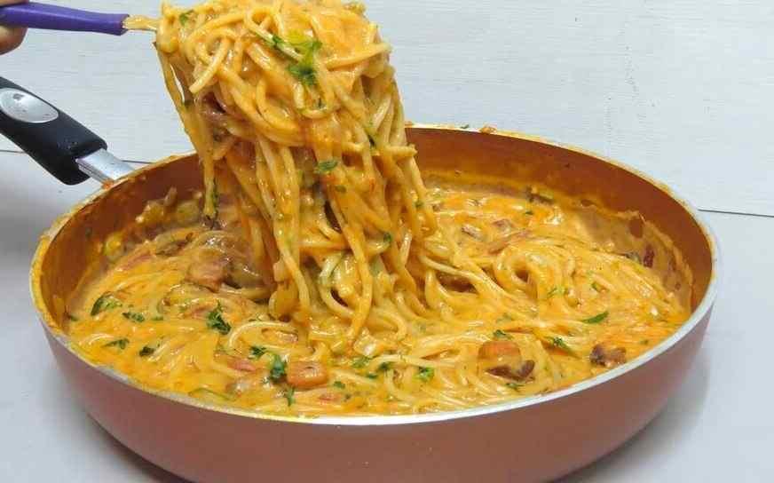 champignon rezepte ,champignonsrezeptepfanne ,spaghettimitchampignons ,pasta mit pilzen ,pilz-sahne-soße ,pilze rezepte